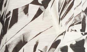 Ecru/ Black Crushed Print swatch image
