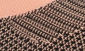 Pink/ Black Knit Fabric swatch image