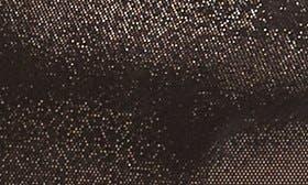 Black Metallic Suede swatch image