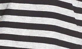 Black/ Heather Grey Stripe swatch image