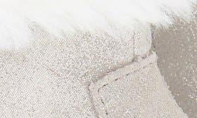 Grey Sparkle Suede swatch image