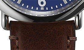 Dark Brown/ Blue swatch image