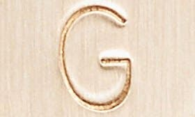 14K Gold Fill G swatch image