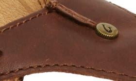 Kona Coffee Leather swatch image