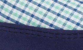 Blue Plaid Fabric swatch image