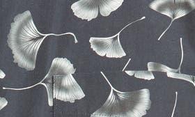 Black Gingko Print swatch image