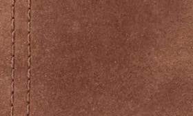 Cognac Nubuck Leather swatch image