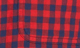 Red Chili Navy Gingham swatch image