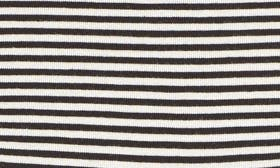 Black/ Ivory Stripe swatch image selected