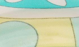 Mod Swirls Blue/ Green swatch image