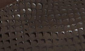 Brown Croc Leather swatch image