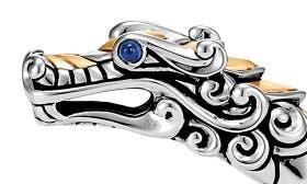 Silver/ Black/ Blue Sapphire swatch image