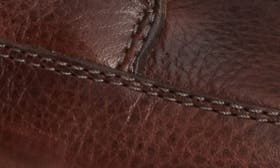 Brown Tumbled Pull-Up Leather swatch image
