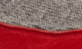 Cooler Grey/ Red Mud Leather swatch image