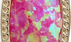 Pink Kyocera Opal/ Gold swatch image