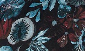 Black Garden Print swatch image