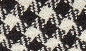 Black/ Ivory Fabric swatch image