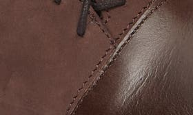 Pecan Brown Nubuck Leather swatch image