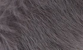 Charcoal Suede/ Fur swatch image