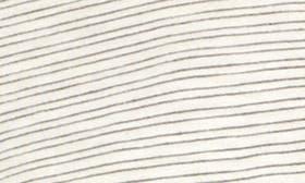 Ivory/ Black Stripe swatch image