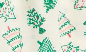 Ivory Egret Christmas Trees swatch image