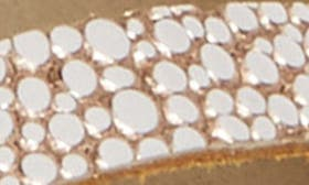 Natural/ Rose Gold Leather swatch image