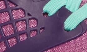 Purple Leather/ Textile swatch image
