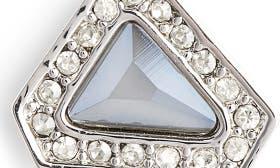 Rhodium/ Crystal Dark Grey swatch image