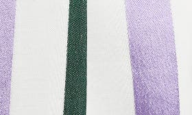 Purple- Green Vertical Stripe swatch image