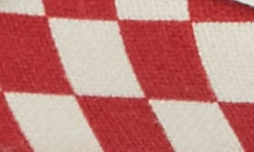 Racing Red/ White Check swatch image