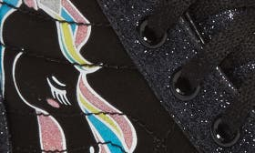 Black Glitter Unicorn swatch image