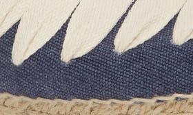 Blue/ Ecru Fabric swatch image