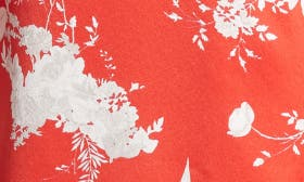 Floral Damask - Poppy swatch image