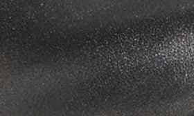 Black/ Metallic Leather swatch image
