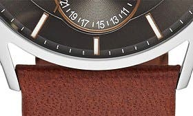 Saddle/ Charcoal swatch image