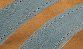 Sea Green/ Brown Leather swatch image