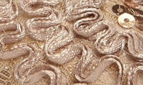 Champagne Lace Fabric swatch image