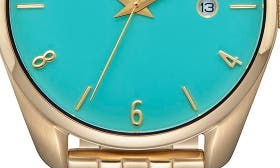 Light Gold/ Turquoise swatch image