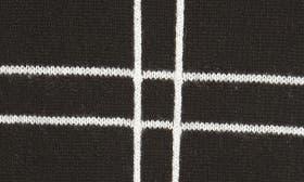 Black- Ivory Windowpane swatch image