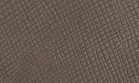 Grey Embossed Leather swatch image