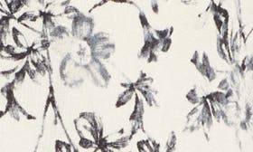 Ivory Floral Garden swatch image