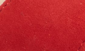 Cherry Red Suede swatch image
