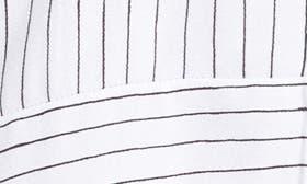 White Stripe Print swatch image