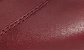 Beet Red Leather swatch image