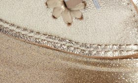 Platinum Glitter Leather swatch image