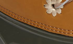 Olive Natural Leather/ Rubber swatch image