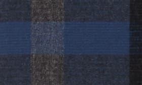 Navy Night - Grey Block Plaid swatch image