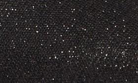 Black Shine Metallic Fabric swatch image