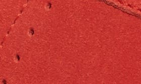 Siren Red Suede swatch image