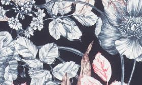 French Floral Black swatch image